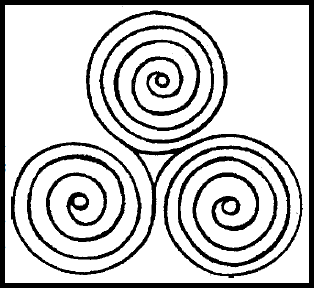 Triskelion magic - photo#28